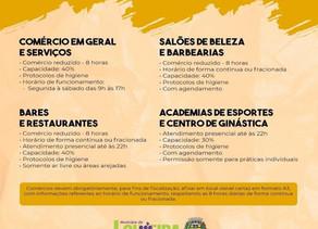 Louveira permanece na fase amarela do Plano de São Paulo