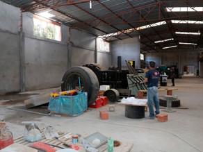 Louveira avança nas obras do novo Centro de Treinamento de Strongman