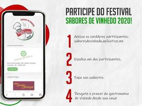 Turismo de Vinhedo inova com Festival Gastronômico On-line