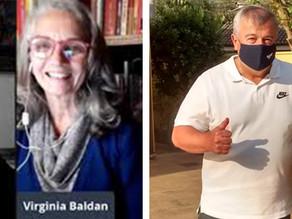 Coronel Guidi e Virginia Baldan confirmam candidaturas e vices em convenções