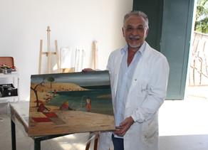 Memorial de Arte Adelio Sarro promove palestra e curso com renomado restaurador italiano