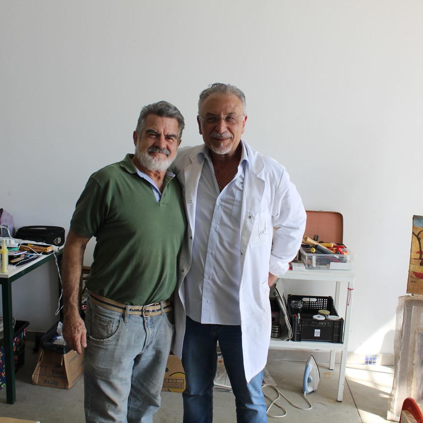 O professor italiano e Adelio Sarro