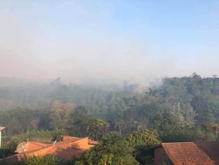Região do Santa Fé volta a pegar fogo pelo 4° dia consecutivo