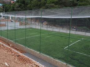 Construção do Complexo Esportivo Terra da Uva