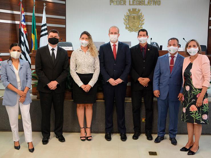 Câmara elege Rodrigo Paixão presidente para o primeiro biênio da 18ª Legislatura Vinhedo