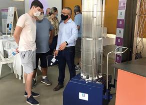 Cabines e Torres para desinfecção com tecnologia ultravioleta