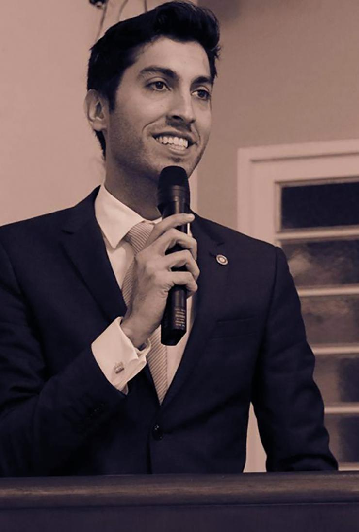 Entrevista com Cristiano Kalil Meibach, Rotary Club de Vinhedo VINHEDO