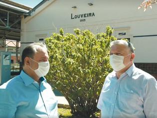Júnior Finamore apresenta Dr. Hélio Braz como pré-candidato a prefeito