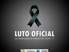 Prefeito Jaime Cruz decreta luto em Vinhedo por causa de mortes por covid-19