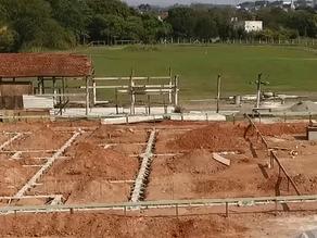 Obras do novo Centro Equestre de Louveira avançam rapidamente