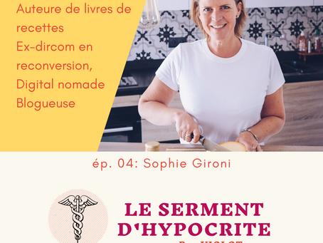 Podcast LSDH #4 - Sophie Gironi de lesassiettes.fr