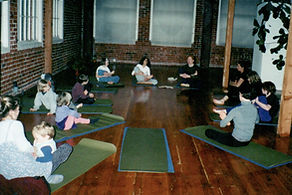 kid's yoga class at the Berkeley Yoga Ce