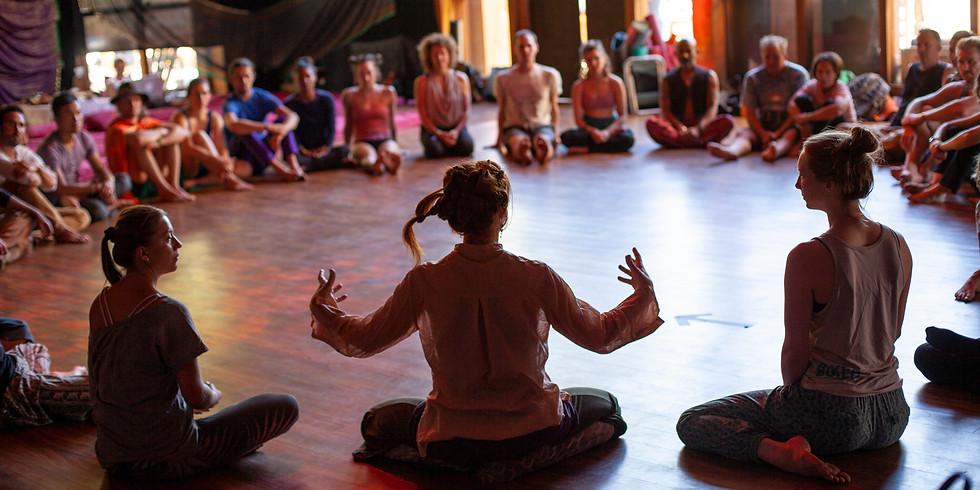 Ecstatic Dance Oakland - Contact Improv & Axis Syllabus