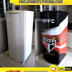 Geladeira São Paulo - Envelopamento