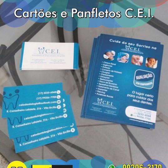 Cartões de visita CEI