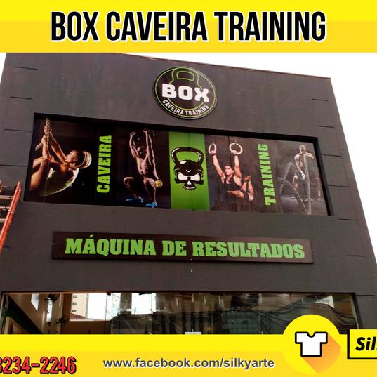 Fachada BOX Caveira Trainning