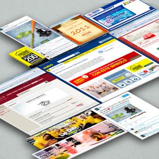 Websites, landing pages, RRSS, newsletters y más...