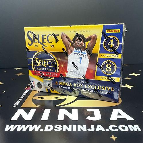 2020-21 Panini Select Basketball Mega Box