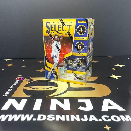 2020-21 Panini Select Basketball Blaster Box
