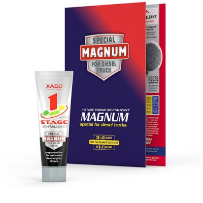 1 Stage MAGNUM Revitalizant For Truck Engines