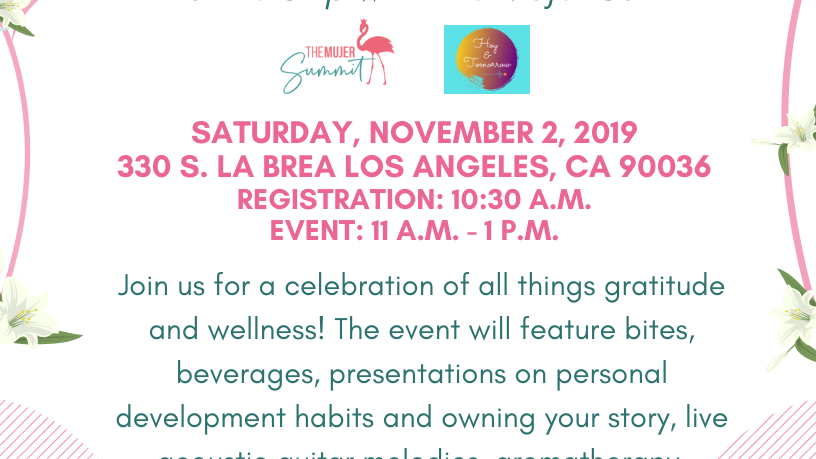 Gratitude & Wellness Launch Party @ DOOR