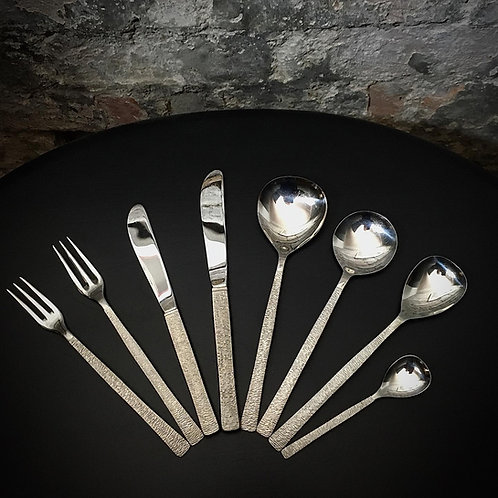 Viners 'Studio' cutlery. Designed by Gerald Benney. 1960s RESERVED.