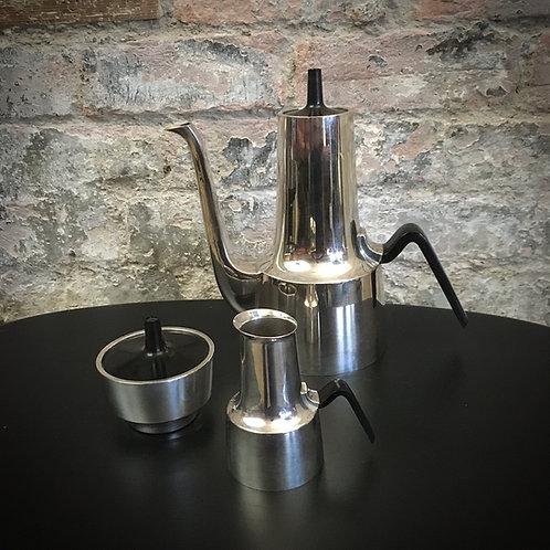 Cohr Denmark 'Conica' coffee set designed by Hans Bunde