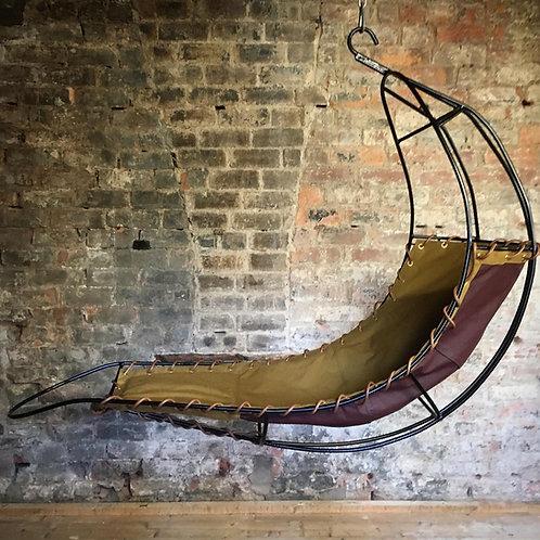 Rupert Oliver hanging 'Leaf' chair. RESERVED