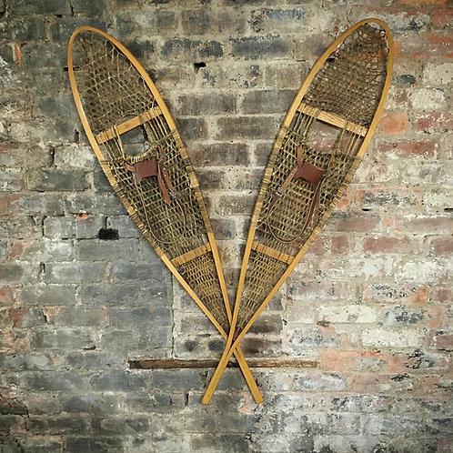 Vintage Canadian Faber Snowshoes. SOLD.