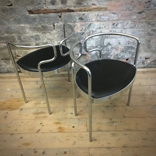 Pair Henning Larsen, Model 9230 Danish chairs SOLD