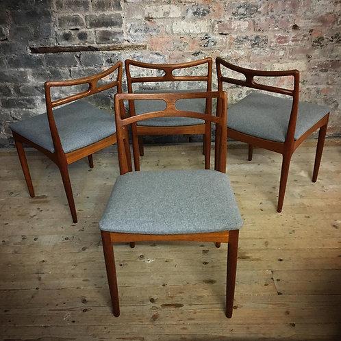 Johannes Andersen teak Dining Chairs