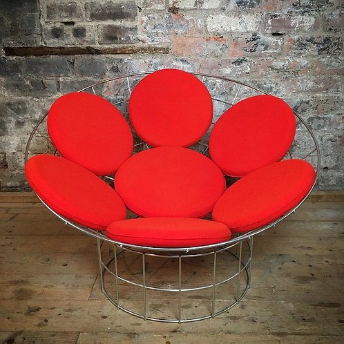 Verner Panton Peacock lounge chair. SOLD