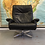 Thumbnail: Howard Keith swivel chair and footstool. SOLD
