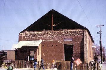 Presbyterian Church Facade Revealed Color