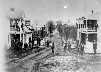 North Main from Roanoke St