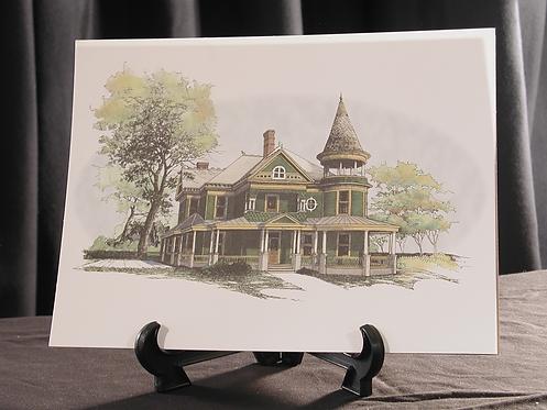 Alexander Black House Print