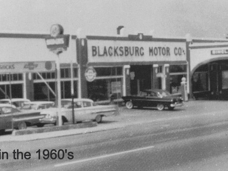 'Eating out' in 1960's Blacksburg: Then vs. Now.