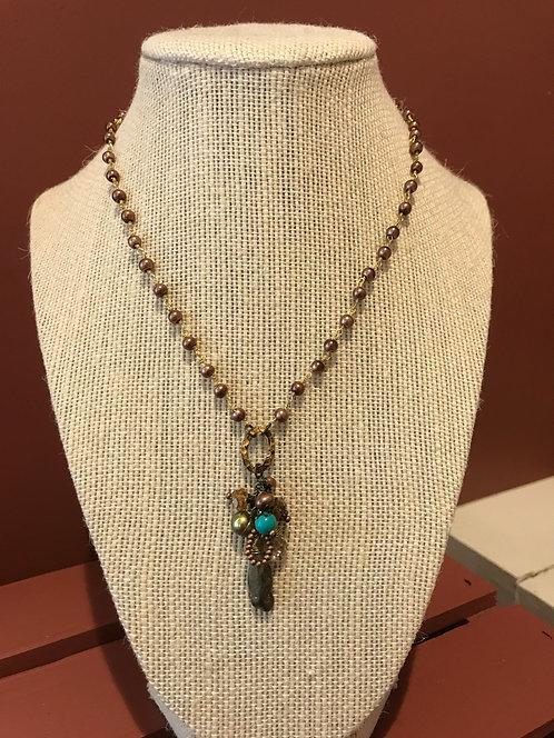 "Anne Vaughan Designs ""River Ridge"" necklace"