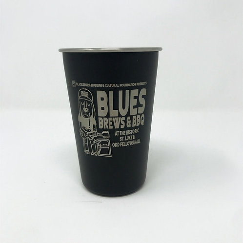 Blues, Brews & BBQ Stainless Steel Cup