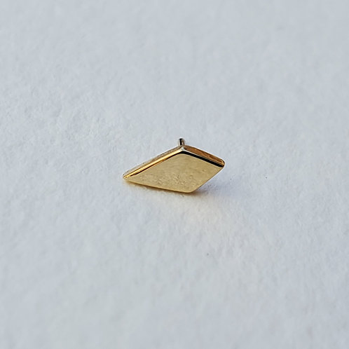 Yellow Gold Flat Kite
