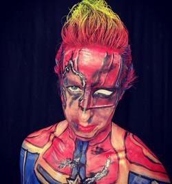 Captain Marvel - Damaged
