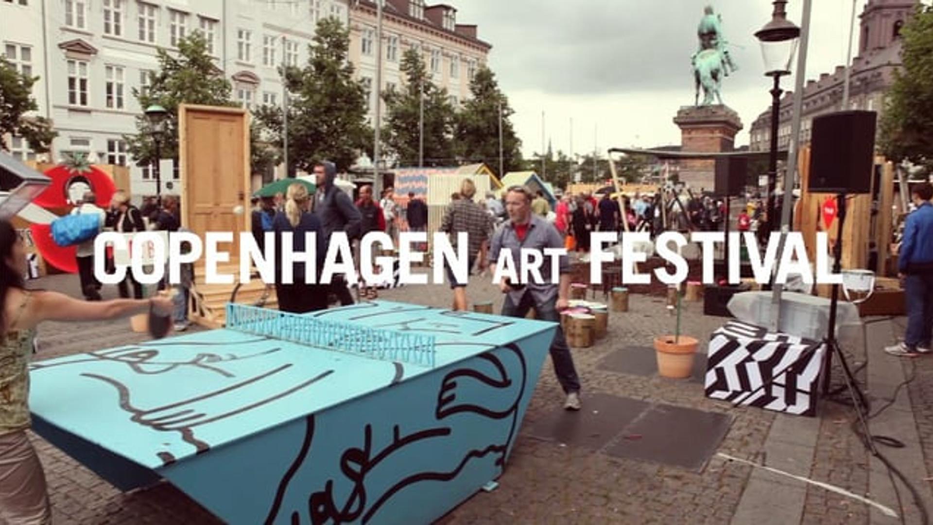 Jeppe Hein / Copenhagen Art Festival 2012.