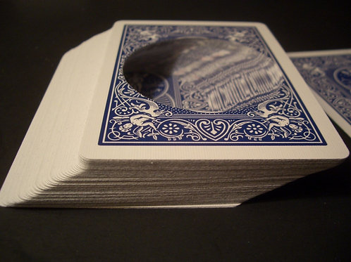 Blue Bicycle Circle Hollow Deck