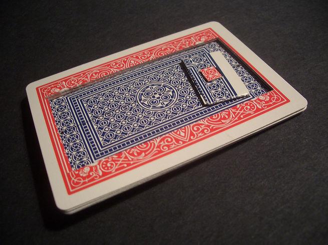 magic trick gimmick aviator card