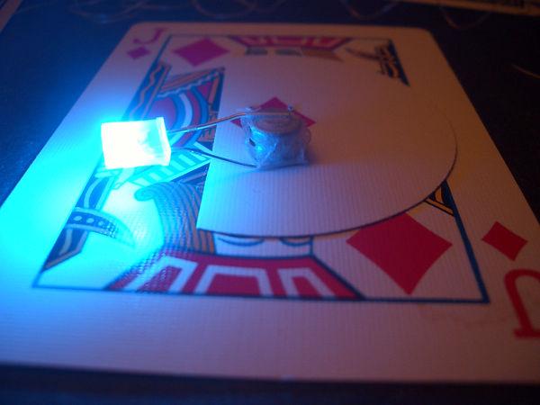 magic card light gimmick