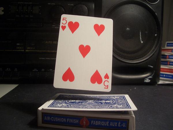 solar floating card variation