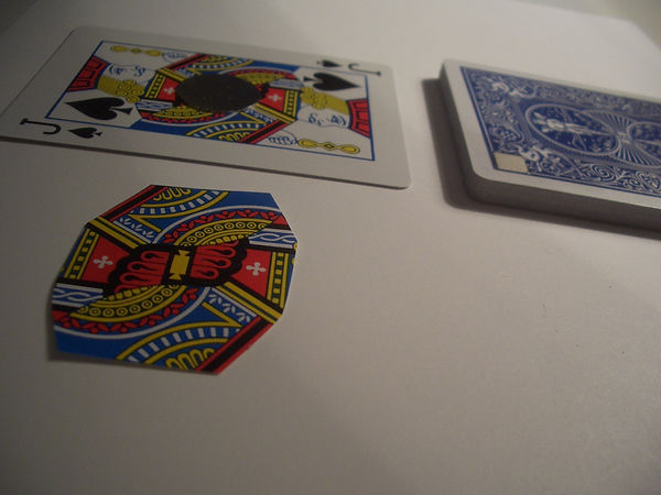 magnets playing cards