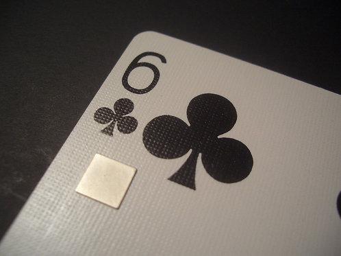 6mm x 6mm x 0.25mm Neodymium squares