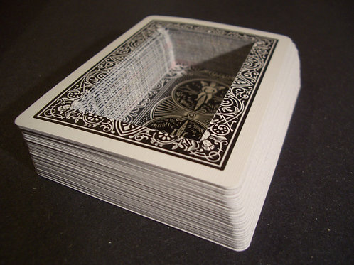 Bicycle Black rectangle Hollow Deck