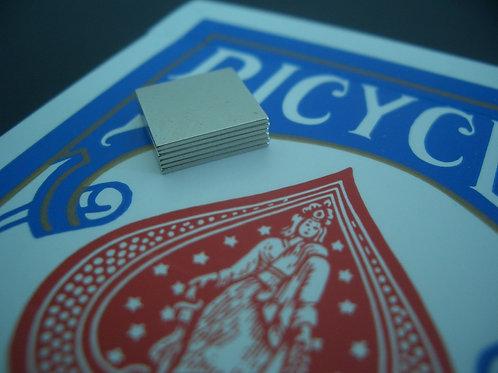 10mm x 10mm x 0.5mm Neodymium squares